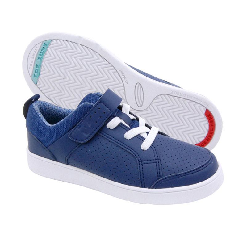 Toezone Kids Wilbur Yt Navy Dottie Sepatu Anak Laki-Laki