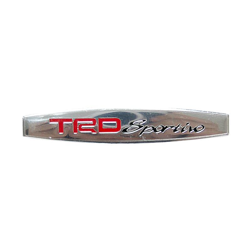 SIV EMB-TRD01 Oval TRD Sportivo Universal Emblem