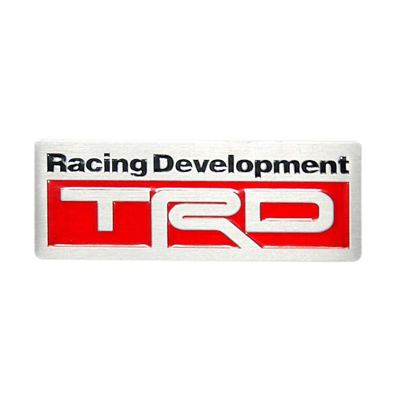 SIV EMB-TRD 04 Kotak Kecil TRD Racing Universal Emblem