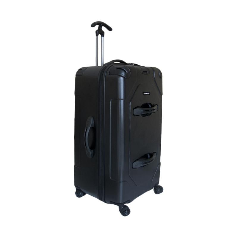 Traveler's Choice MaxPorter Hardcase Koper - Hitam [75 cm/30 Inch]