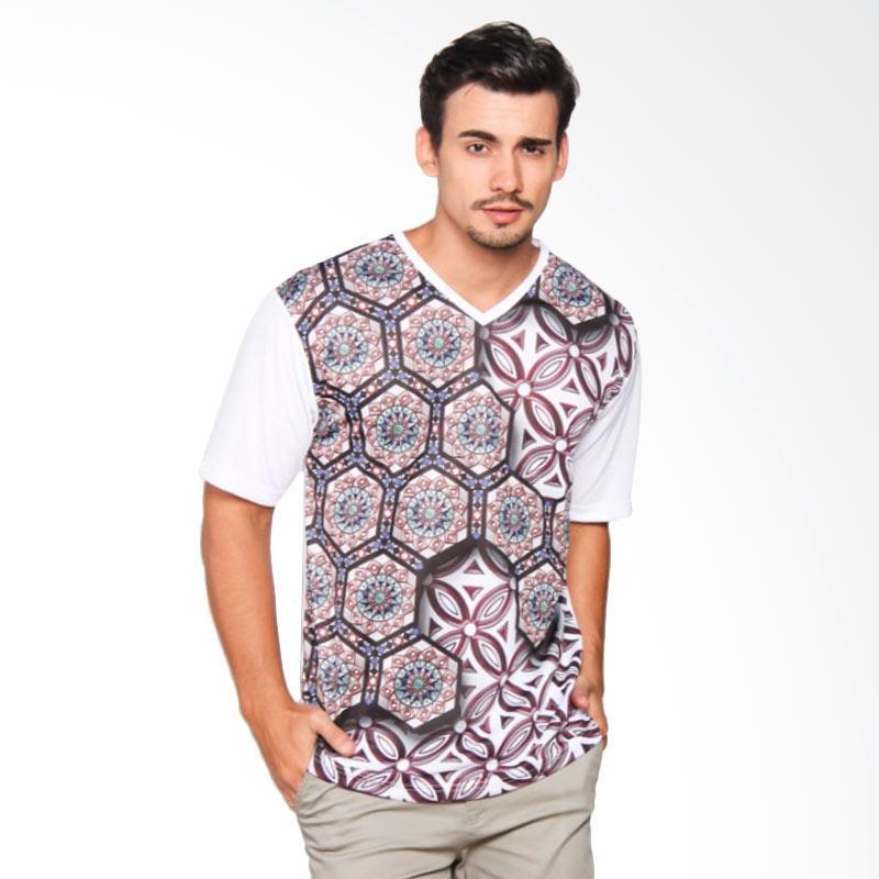 EpicMomo Pattern6 T-Shirt - White AD.00148