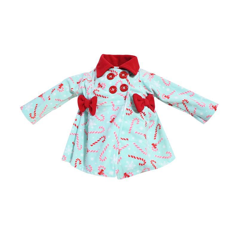 Bibbo Baby Blazer Candy Jaket Bayi Perempuan - Toska