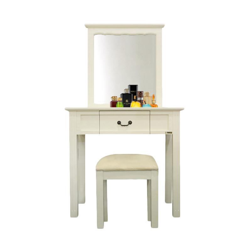 Jual Dove S Mrminimalis Furniture Meja Rias White Online Desember 2020 Blibli