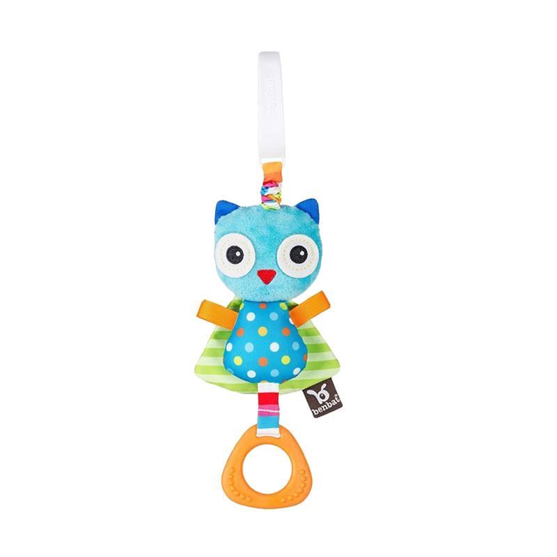 Benbat Dazzle Friends Jitter Toy Owl