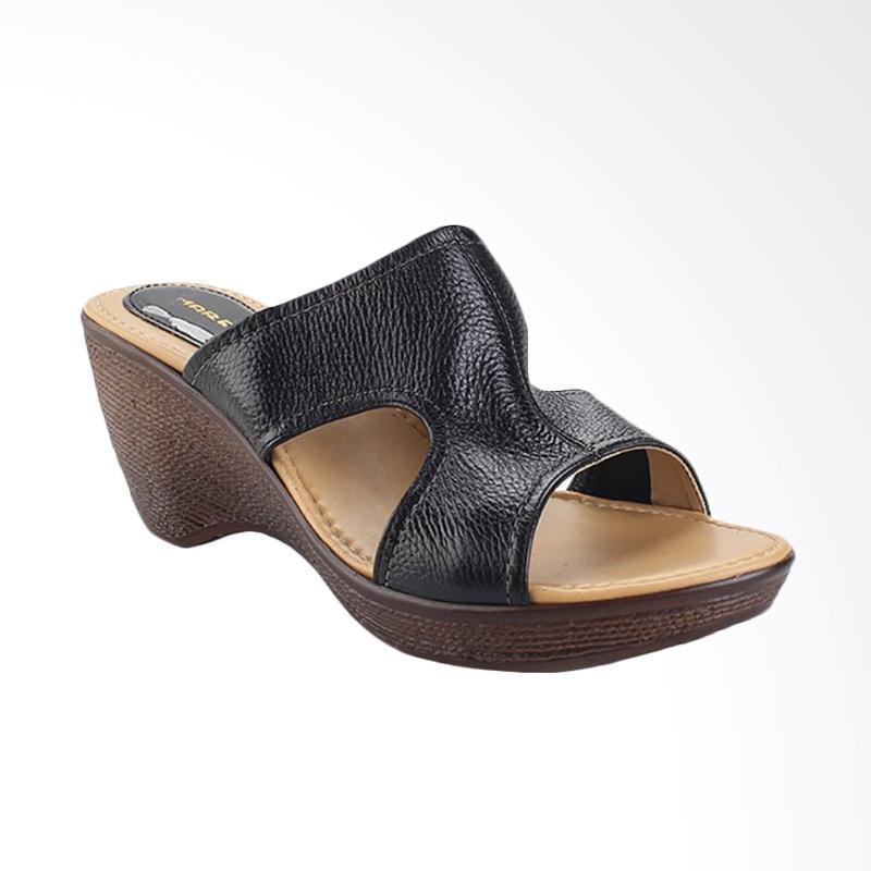 harga Marelli KR 3001 Sandals Wedges - Hitam Blibli.com