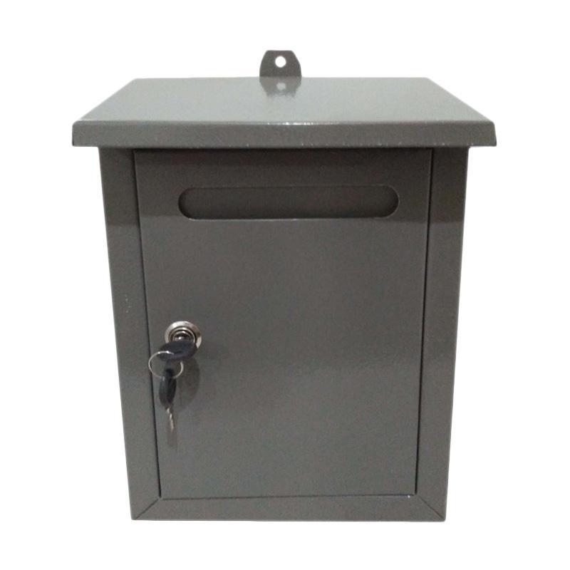 harga Kampung Kaleng Mailbox Kotak Surat - Abu Abu Blibli.com