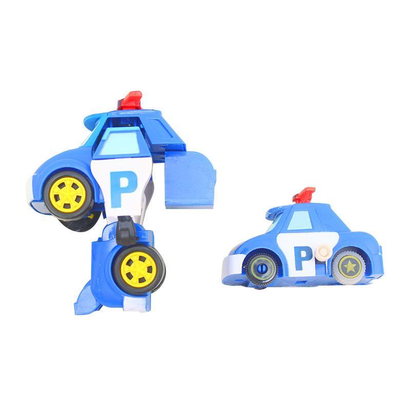 Istana kado IKO00797 Robopoli Robot Poli Single Set L Poli Mainan Mobil Diecast