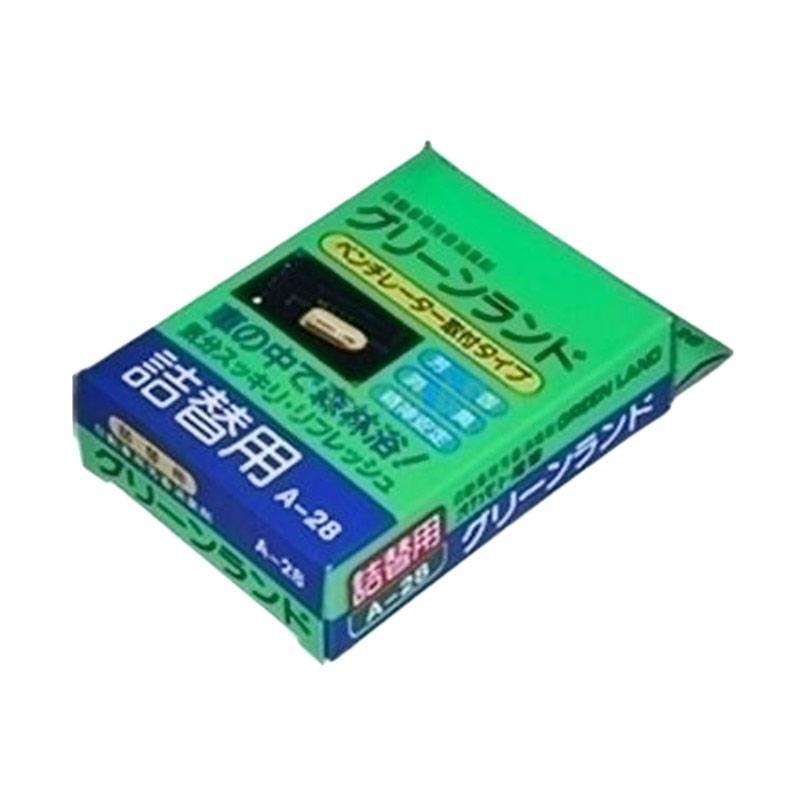 Carall Green Land A-28 Car Ventilator Air Freshener Refill Parfum Mobil