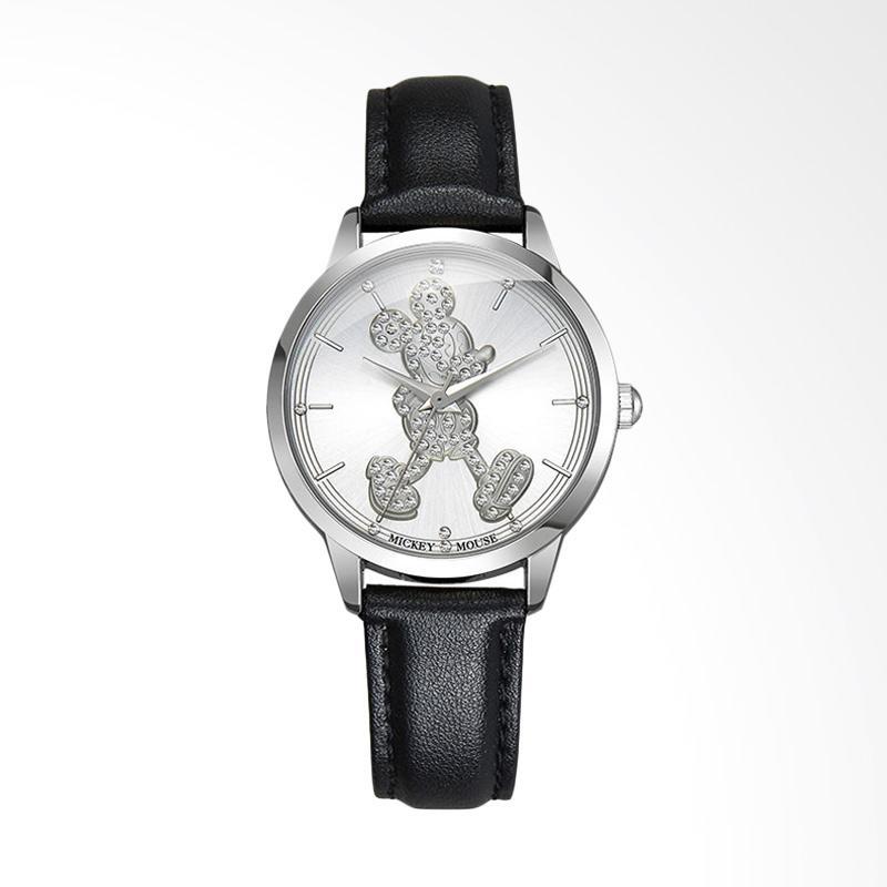 Disney Mickey MS11036-B Jam Tangan Wanita - Hitam