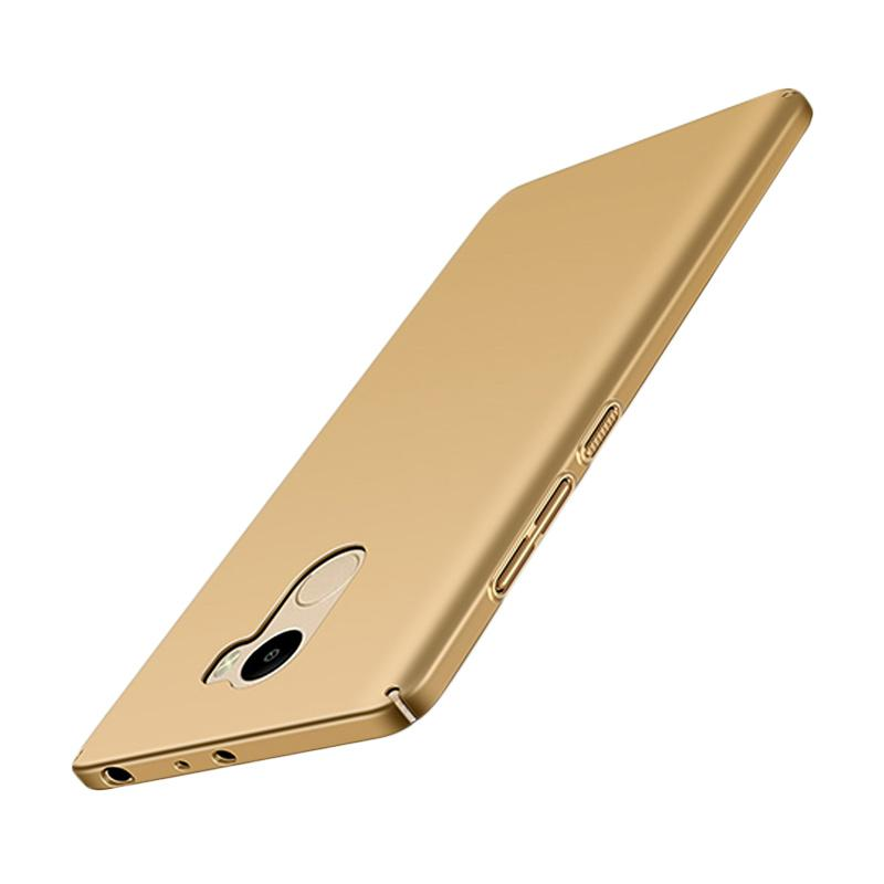 WEIKA Baby Skin Ultra Thin Hardcase Casing for Xiaomi Redmi 4 - Gold