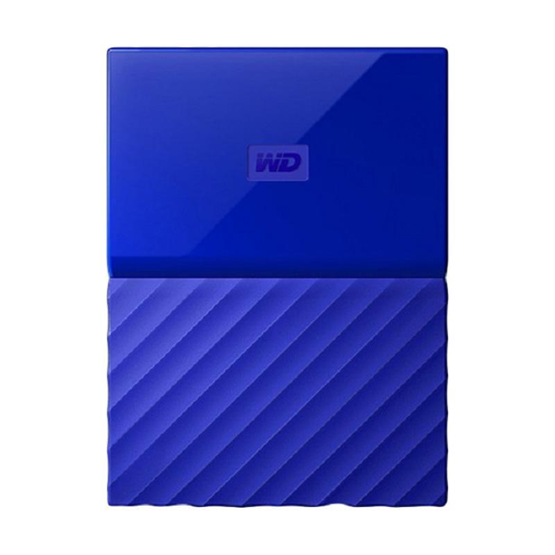 harga WD My Passport New Portable Harddisk - Biru [1 TB] Blibli.com