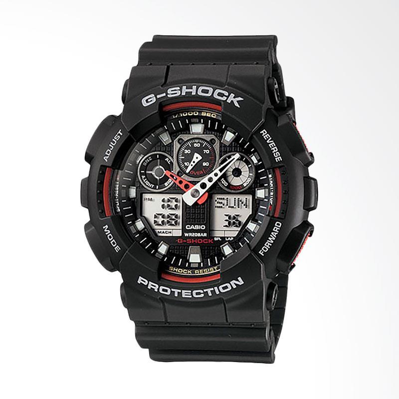 CASIO G-Shock Jam Tangan Pria GA-100-1A4DR