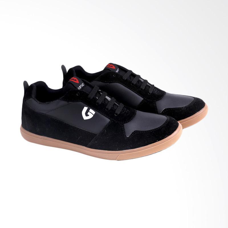 Garucci Sneakers Shoes Sepatu Pria - Black GRG 1193