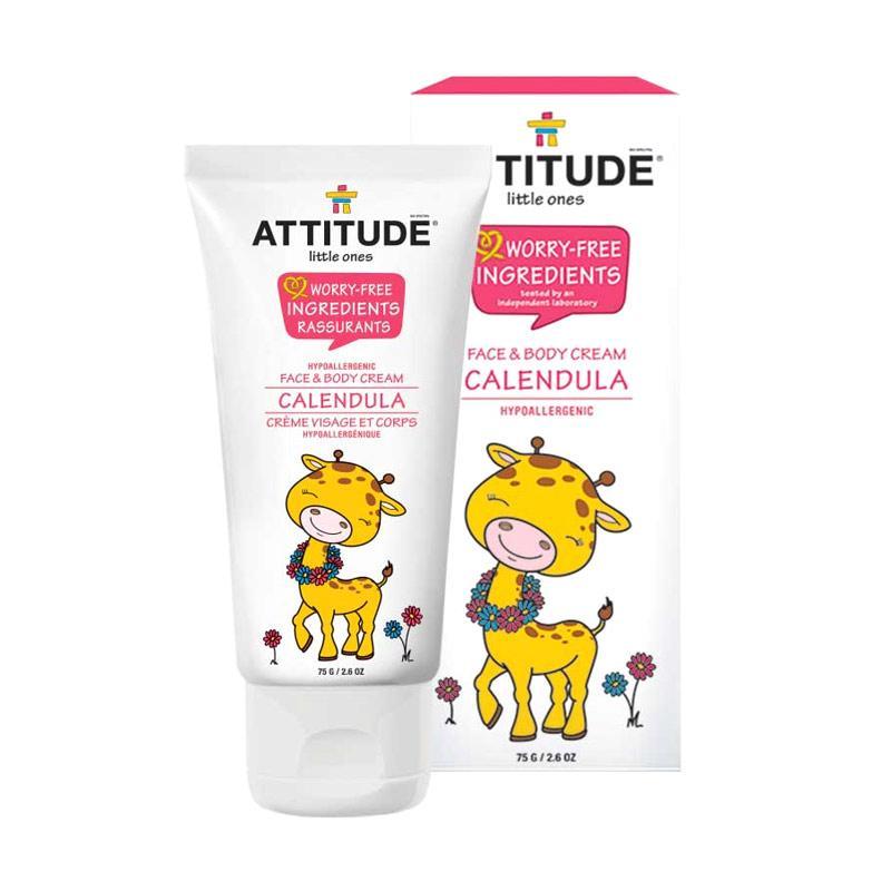 Attitude Calendula Face and Body Cream for Baby