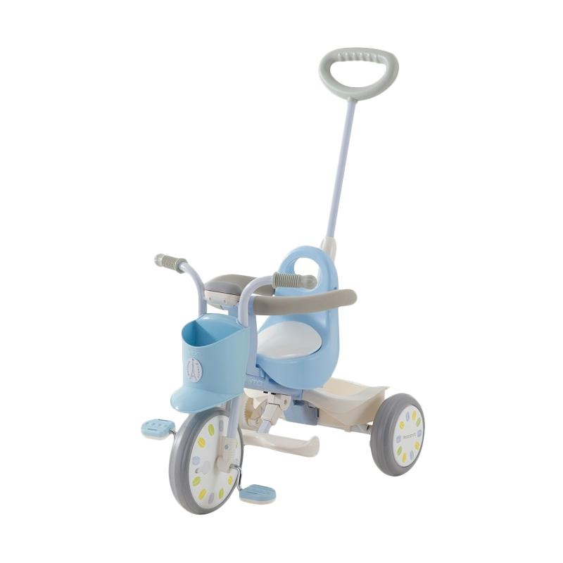 IIMO Tricycle Sepeda Roda Tiga Macaron (01) - Blue