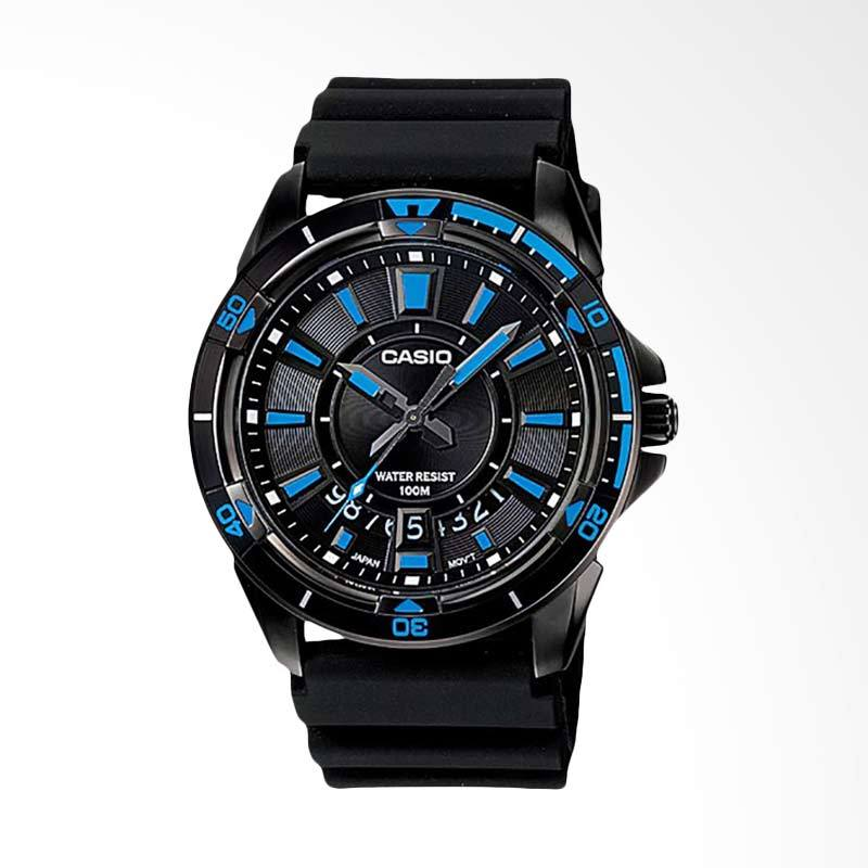 CASIO Standard Jam Tangan Pria - Black MTD-1066B-1A1VDF
