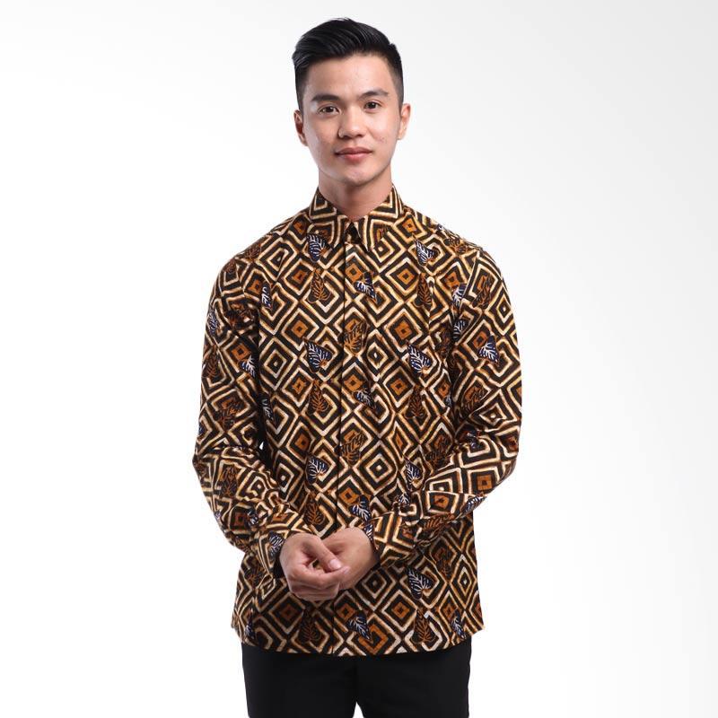 harga Denbagoes Batik Prayata Hem Batik Lengan Panjang Atasan Pria Blibli.com