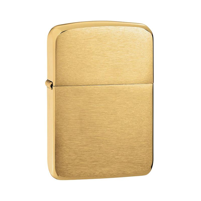 Zippo 1941 Replica Pocket Lighter - Brushed Brass