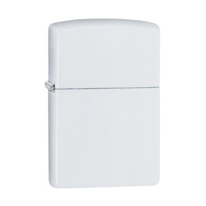 Zippo Pocket Lighter - White Matte