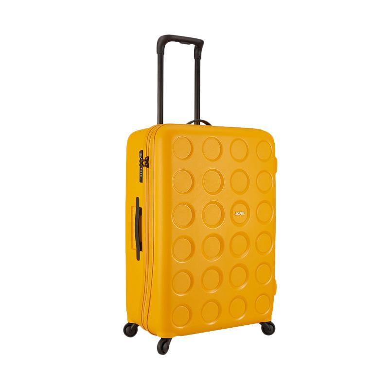 Spek Harga Lojel Vita Hardcase Koper - Yellow [Medium/26 Inch] Terbaru