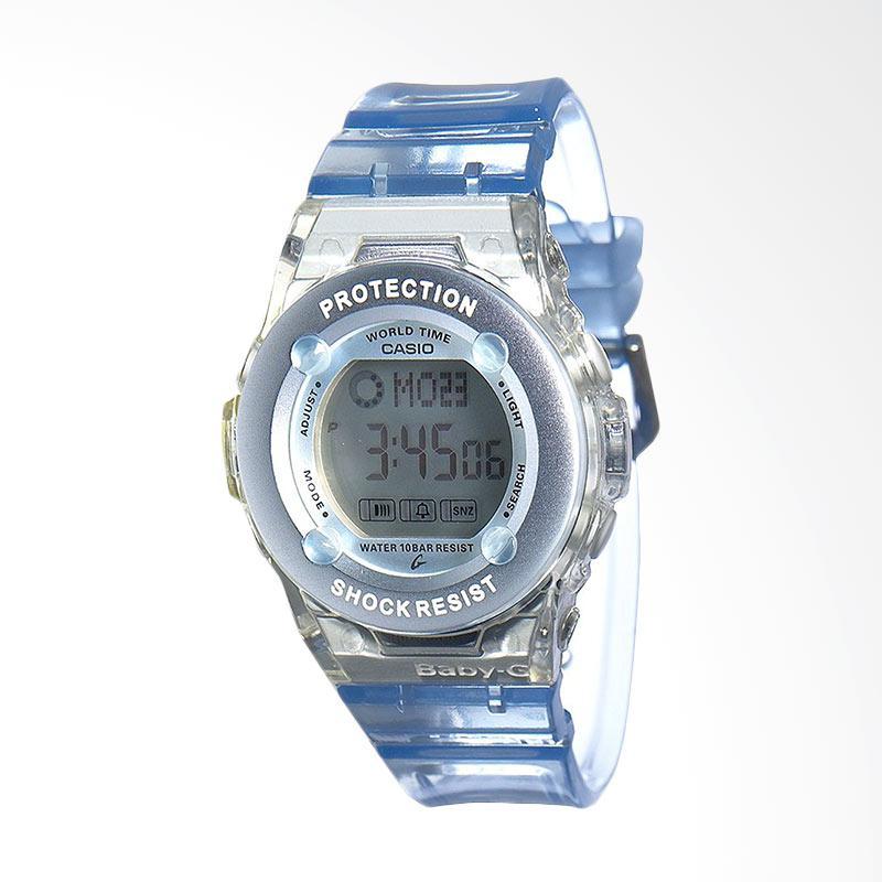 Casio BG1302-2 Baby-G Shock Resistant Urban Style Jelly Jam Tangan Wanita - Blue Sky