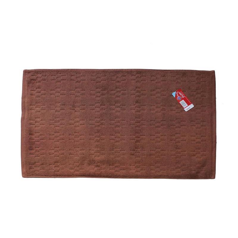 Merah Putih CKTELRO Keset Handuk - Coklat [45 x 65 cm]