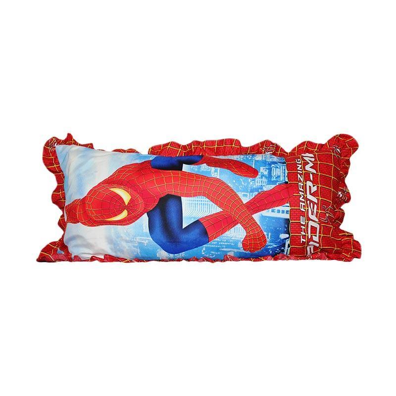Monalisa Motif Spiderman Sarung Bantal Cinta [45 x 95 cm]