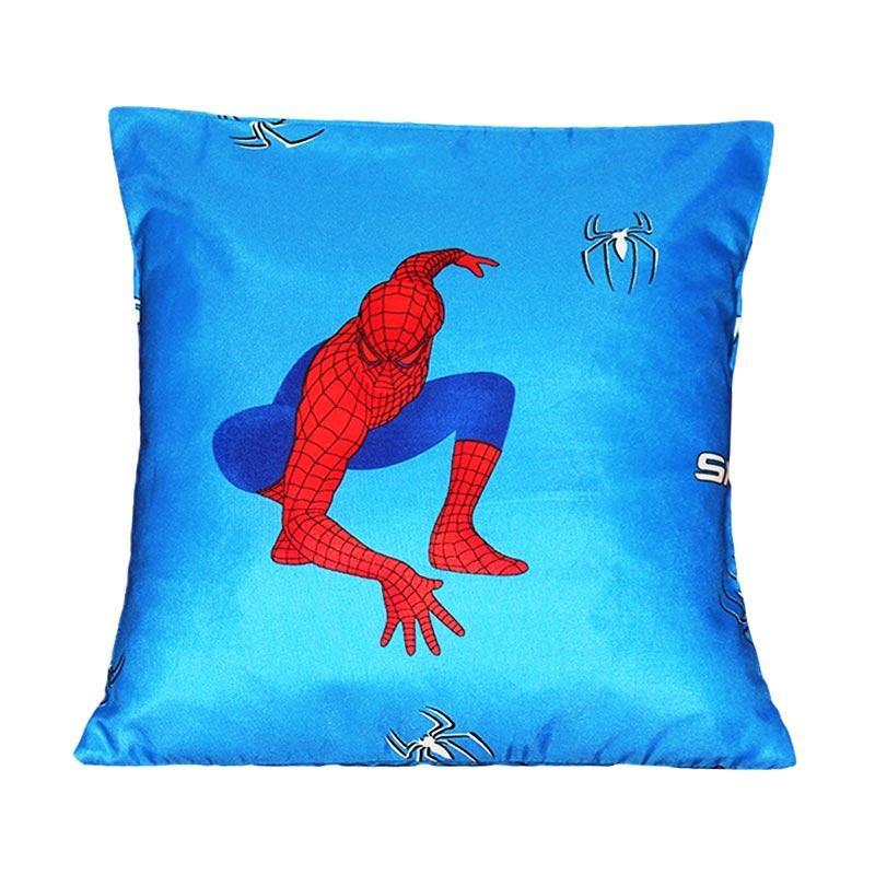Monalisa Motif Spiderman Sarung Bantal Sofa [30 cm]