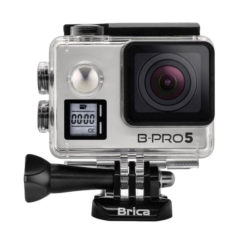 Brica B-PRO 5 Alpha Edition Mark IIs AE2s Combo Brica Berrisom Action Camera - Silver