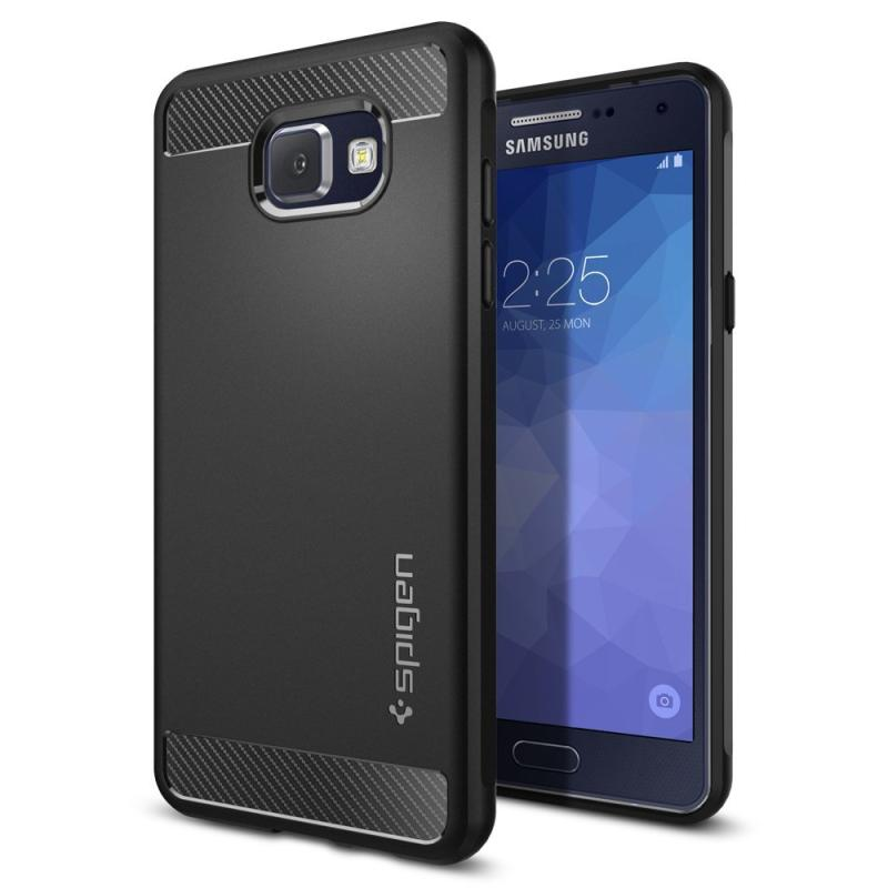 Spigen Rugged Armor Resilient Ultimate Casing for Samsung Galaxy A5 2016 - Black