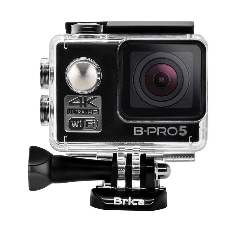 BRICA B-PRO 5 Alpha Edition Mark II (AE2) Combo Awesome B Action Camera - Hitam