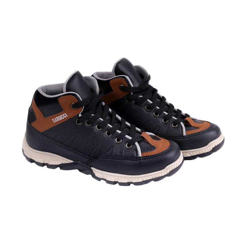 Garucci GDA 9069 Sepatu Kasual Anak Laki-Laki - Black