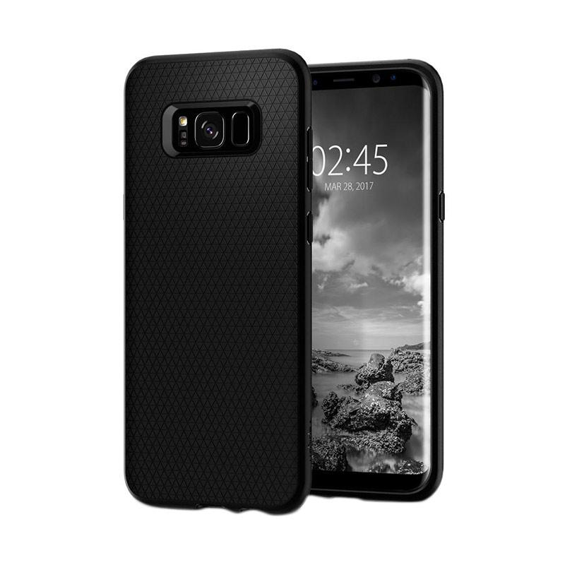 Spigen Liquid Air Armor Casing for Samsung Galaxy S8 Plus 2017 - Black