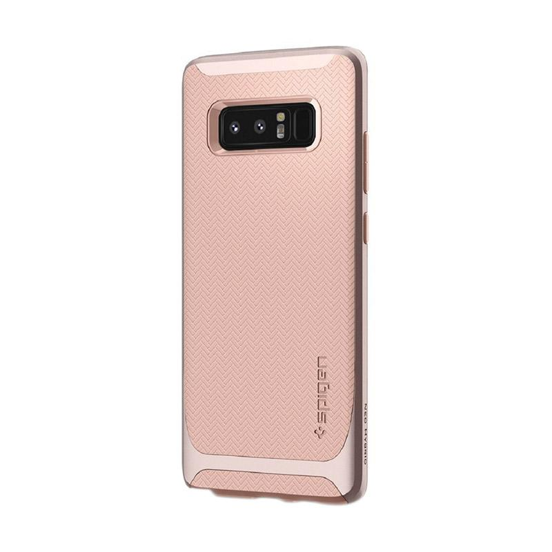 Spigen Neo Hybrid with Flexible and Hard Bumper Frame Casing for Samsung Galaxy Note 8 2017 - Pale Dogwood