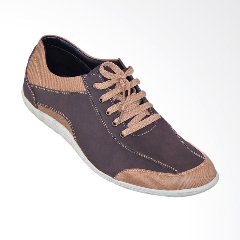 Edberth Koln Sepatu Sneakers Pria - Brown