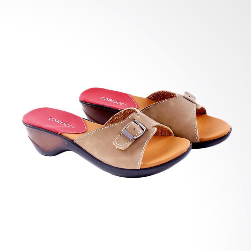 Garucci GB 7163 Sandal Heels Wanita - Cream