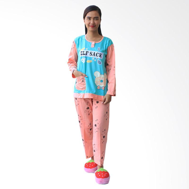 Aily Setelan Baju Tidur Wanita - 476 Tosca