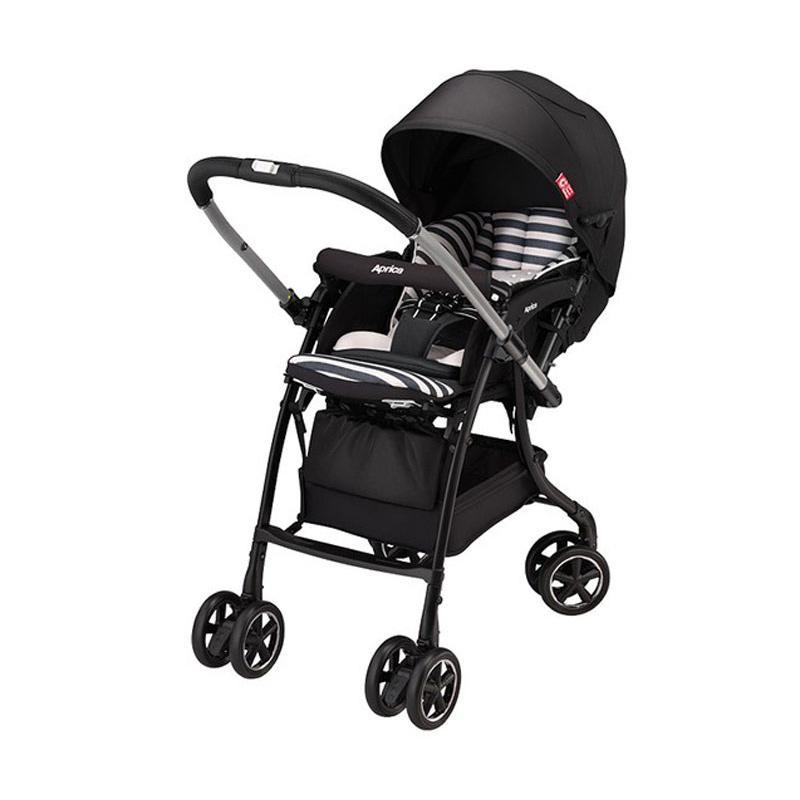 Aprica Stroller Bayi Luxuna Dual - Cordy Black