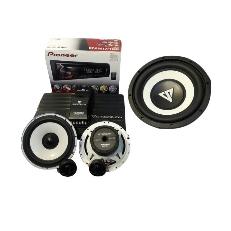Stealth SH 160 Speaker [2 way/ PWR,SUB,HU]
