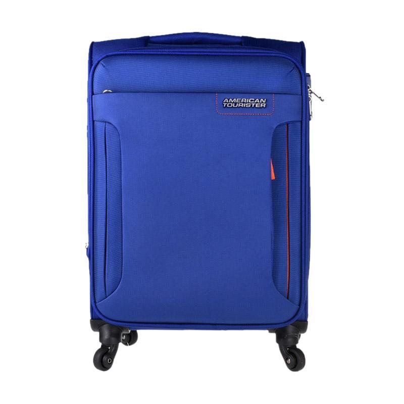 American Tourister AT Troy Spinner 56/20 TSA Trolley Bag - Royal Blue [ACR32O071101RA056#]