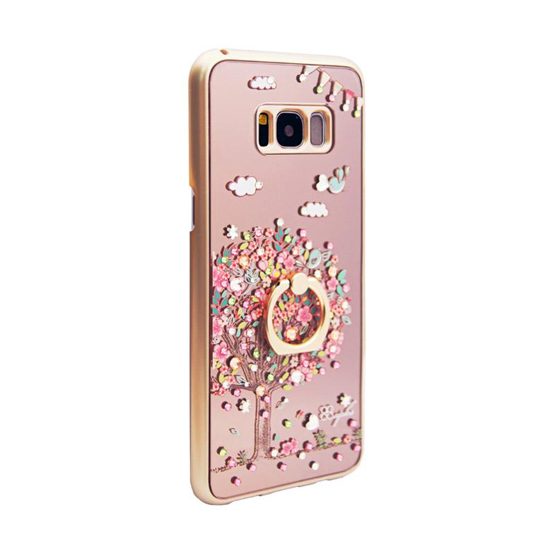 apbs® x Swarovski Love Tree Ring Casing for Samsung Galaxy S8 - Pink