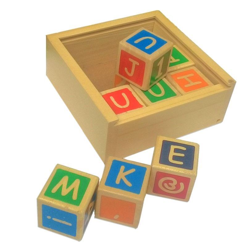 Istana Bintang Kubus Alphabet Angka Mainan Edukasi