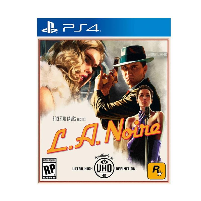 SONY Playstation 4 L.A. Noire R3 DVD Games