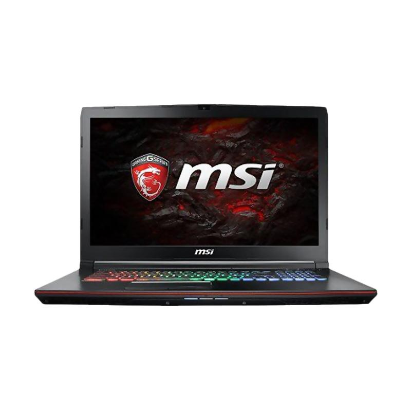 MSi GE72MVR 7RG Gaming Laptop - Black