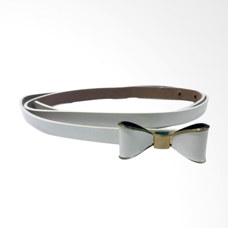 harga Qyrana White Ribbon Belt Blibli.com