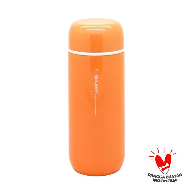 Shuma Chanel7 Stainless Steel Termos Vacuum Mini Tumbler - Orange [200 mL]