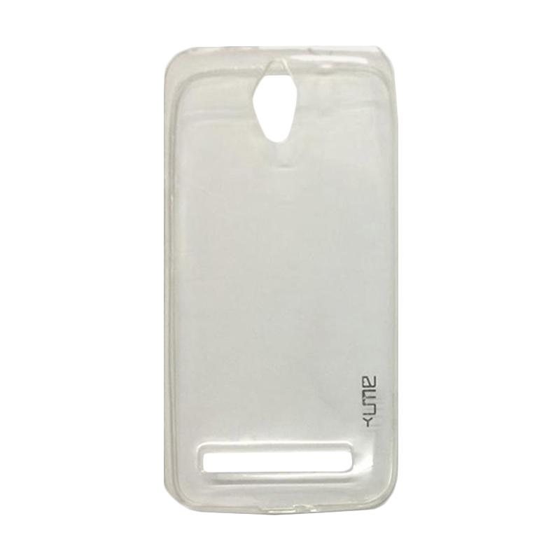 Ume Ultrathin Silicone Jelly Softcase Casing for Asus Zenfone C ZC451CG - Transparan