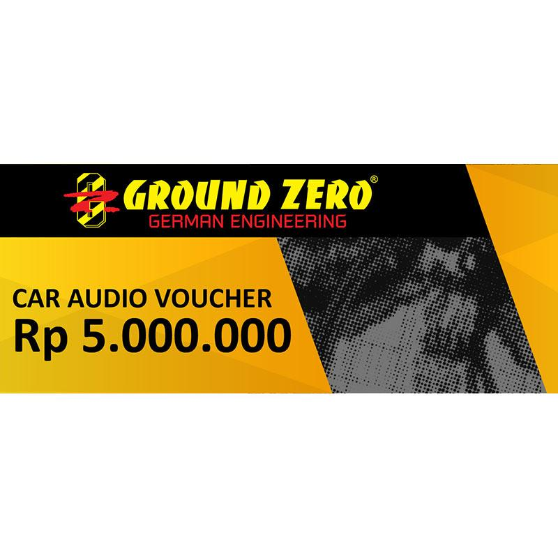 Blibli Voucher Automotive - Ground Zero Audio [RP 5.000.000]