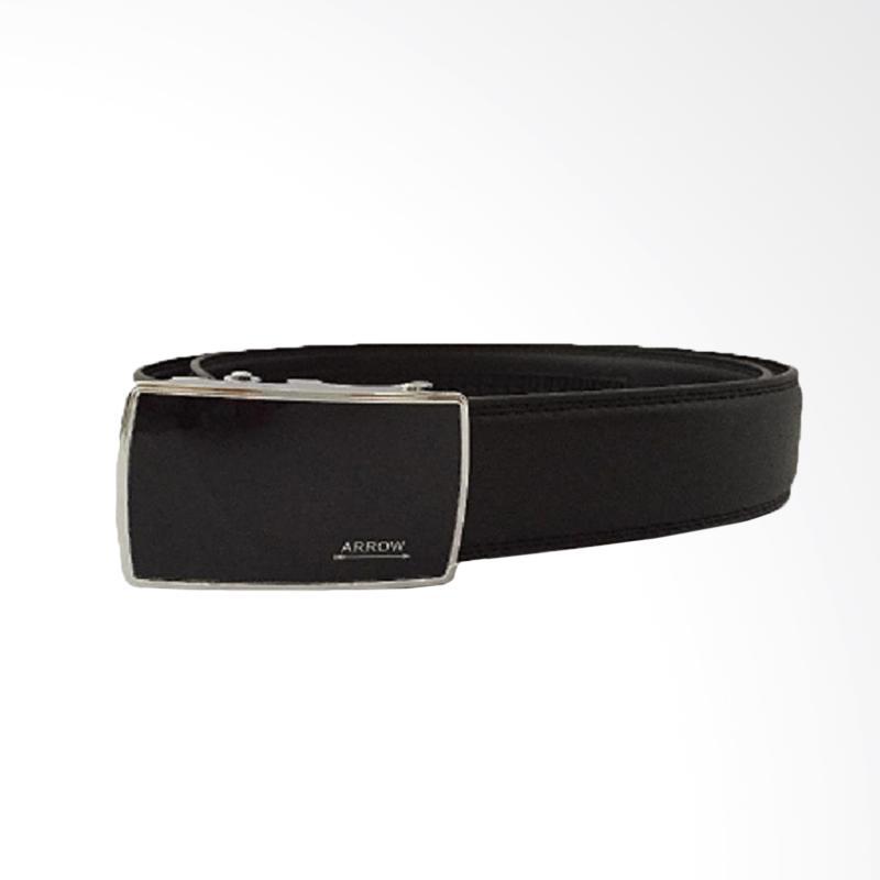 Arrow Leather Belt Ikat Pinggang Pria - Hitam [BP-AR2124SRA27-35SR-A8]