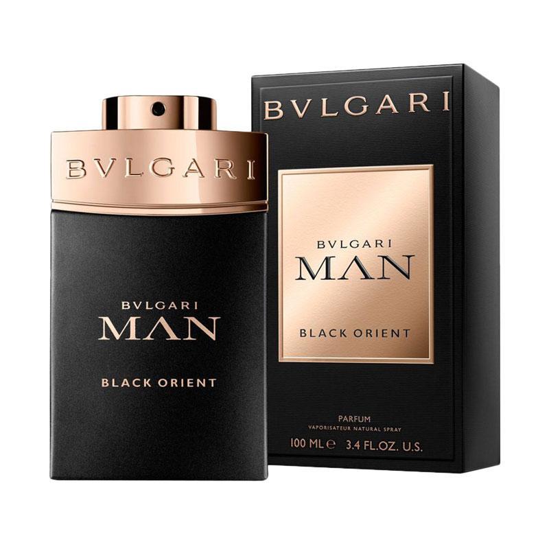 Bvlgari Man Black Orient Parfum Pria [100 mL]